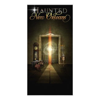 Haunted New Orleans Ghost Elevator Card