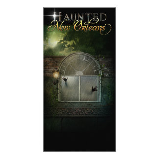 Haunted New Orleans Ghost Hotel Card