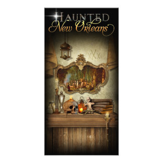 Haunted New Orleans Voodoo Spiritual Altar Card
