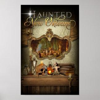 Haunted New Orleans Voodoo Spiritual Altar Print