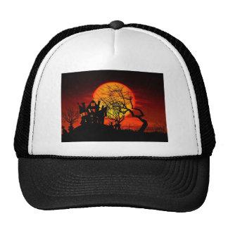 HAUNTED NIGHT, HAUNTED HOUSE! (Halloween) ~ Trucker Hat