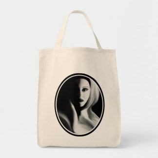 Haunted Organic Grocery Tote Tote Bag