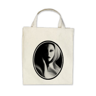 Haunted Organic Grocery Tote Tote Bag