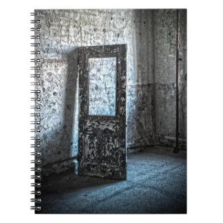 Haunted Places - door Spiral Notebook