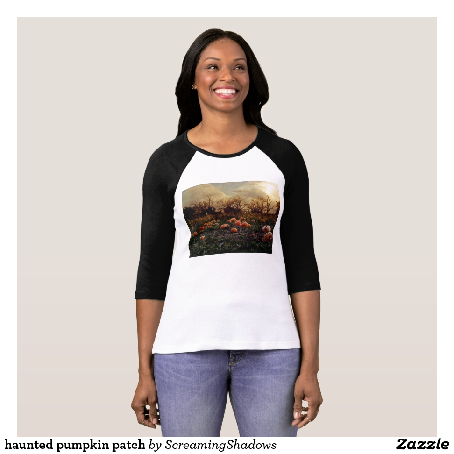 haunted pumpkin patch T-Shirt - Best Selling Long-Sleeve Street Fashion Shirt Designs