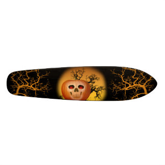 Haunted Pumpkin Skateboard