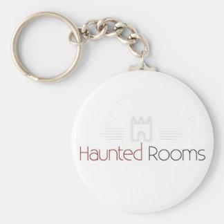 Haunted Rooms Coffee Mug Keychain