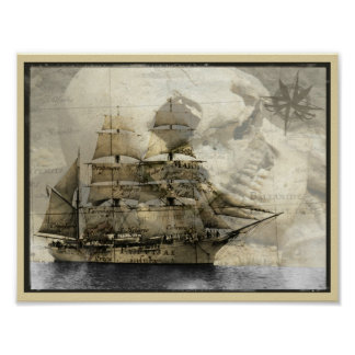 Haunted Ship Poster