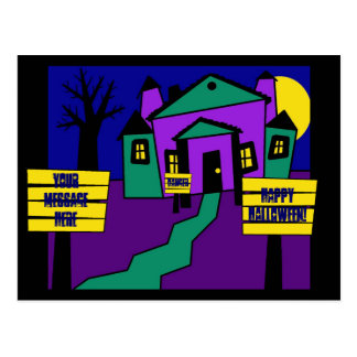 Haunted Signs Postcard