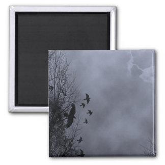 Haunted Sky Blue Mist Magnet