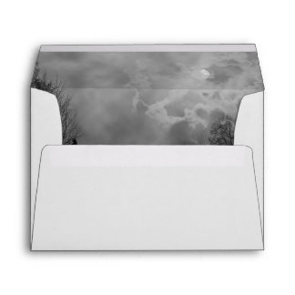 Haunted Sky Full Moon Envelopes