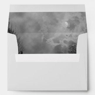 Haunted Sky Full Moon Envelopes