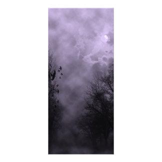 Haunted Sky Purple Mist Rack Cards