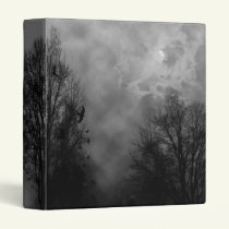 Haunted Sky with Ravens Binder