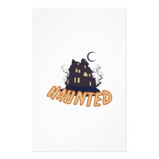 Haunted Stationery