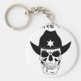 Haunted Texas Keychain