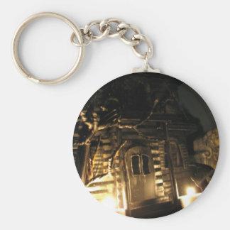 Haunted Tin Keychain