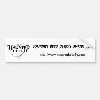 Haunted Toledo bumper sticker