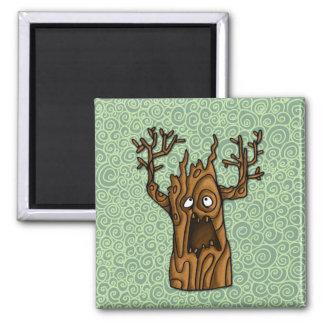 haunted tree magnet