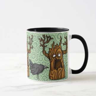 haunted tree mug