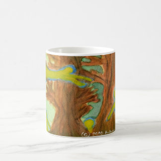 Haunted Trees Classic White Coffee Mug