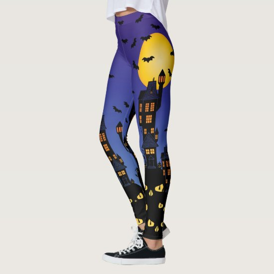 Haunted Village Leggings