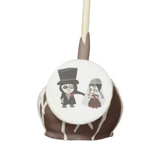Haunted Wedding Cake Pops