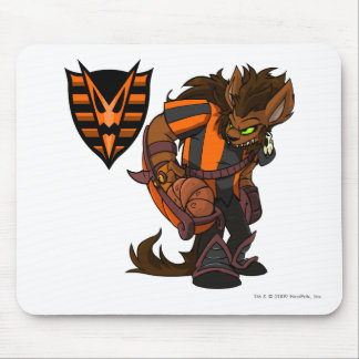 Haunted Woods Team Captain 1 Mouse Pad