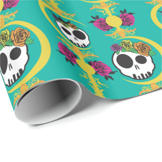 Haunted Wrapping Paper - COLOR