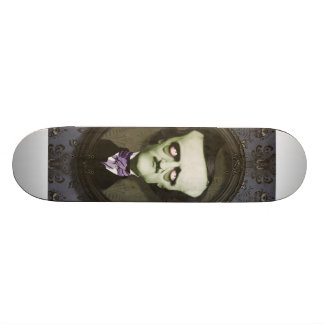 Haunted Zombie Edgar Alan Poe Skateboard