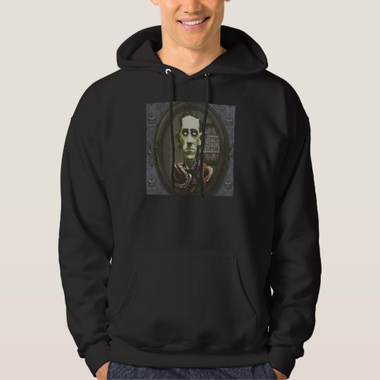 Haunted Zombie HP Lovecraft Hoodie