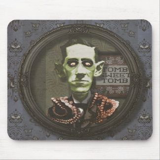 Haunted Zombie HP Lovecraft Mousepad