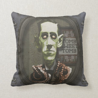 Haunted Zombie HP Lovecraft Pillow