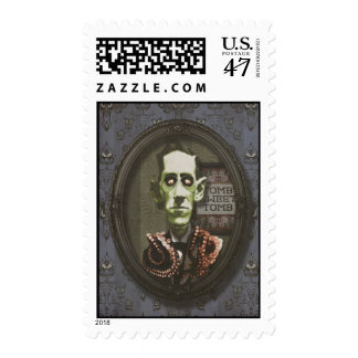 Haunted Zombie HP Lovecraft Stamps