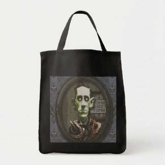Haunted Zombie HP Lovecraft Tote Bag