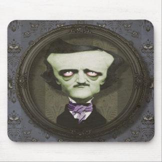 Haunted Zombie Poe Mousepad