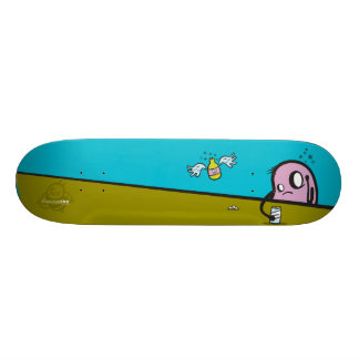 "Haunted Zoo ""Sober"" Custom Skate Board"