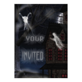 Haunting At Willowstone Invitations