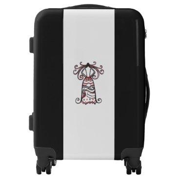 Halloween Themed Haunting Beauty Luggage