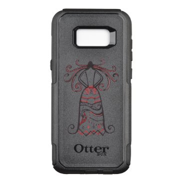 Halloween Themed Haunting Beauty OtterBox Commuter Samsung Galaxy S8  Case