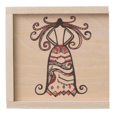 Halloween Themed Haunting Beauty Wooden Keepsake Box