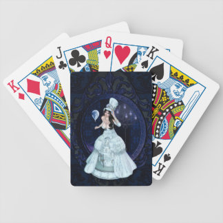 Haunting Bicycle Playing Cards