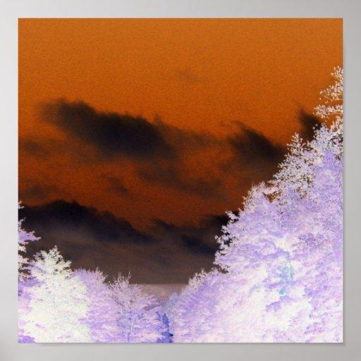 Haunting Dark Sky Poster