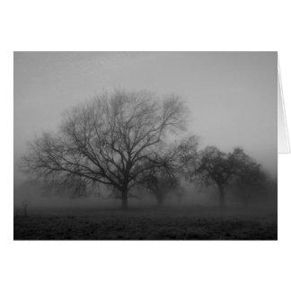 Haunting Fog Card