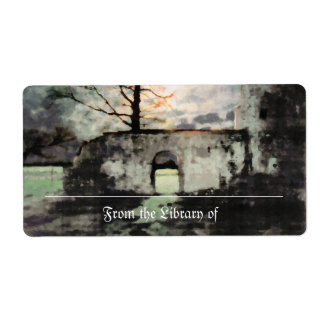 Haunting Ground Bookplate Shipping Label