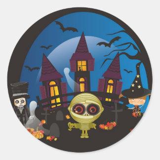 Haunting Halloween Night Stickers
