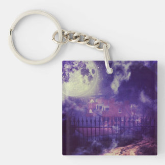 Haunting Harpers Ferry Photo Keychain