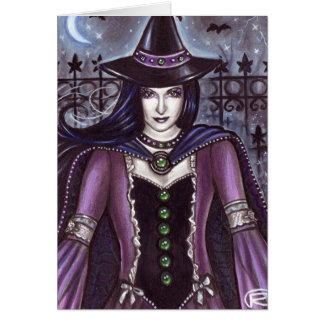Haunting hour card
