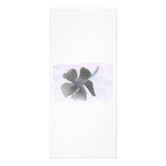 Haunting Image of a Hibiscus flower Custom Rack Card
