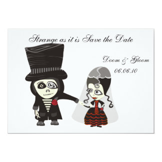Haunting Save the Date Announcement